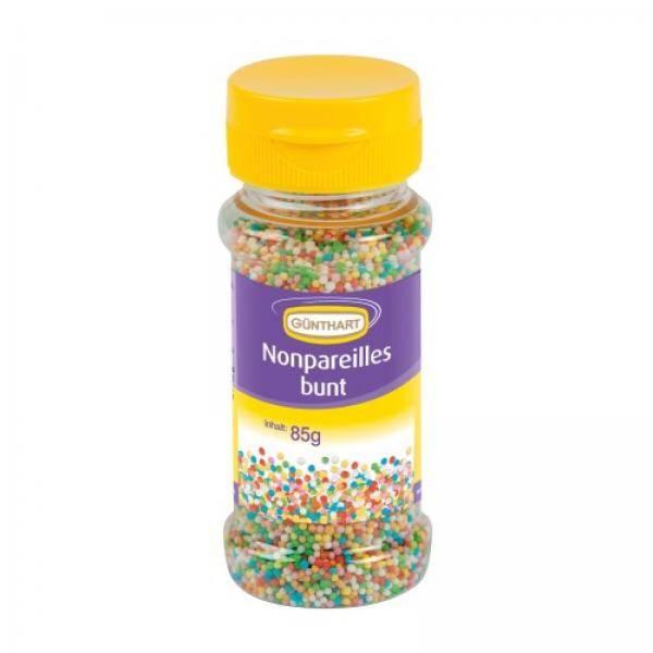 Cukrové miniperličky na zdobení 85g barevné - Gunthart