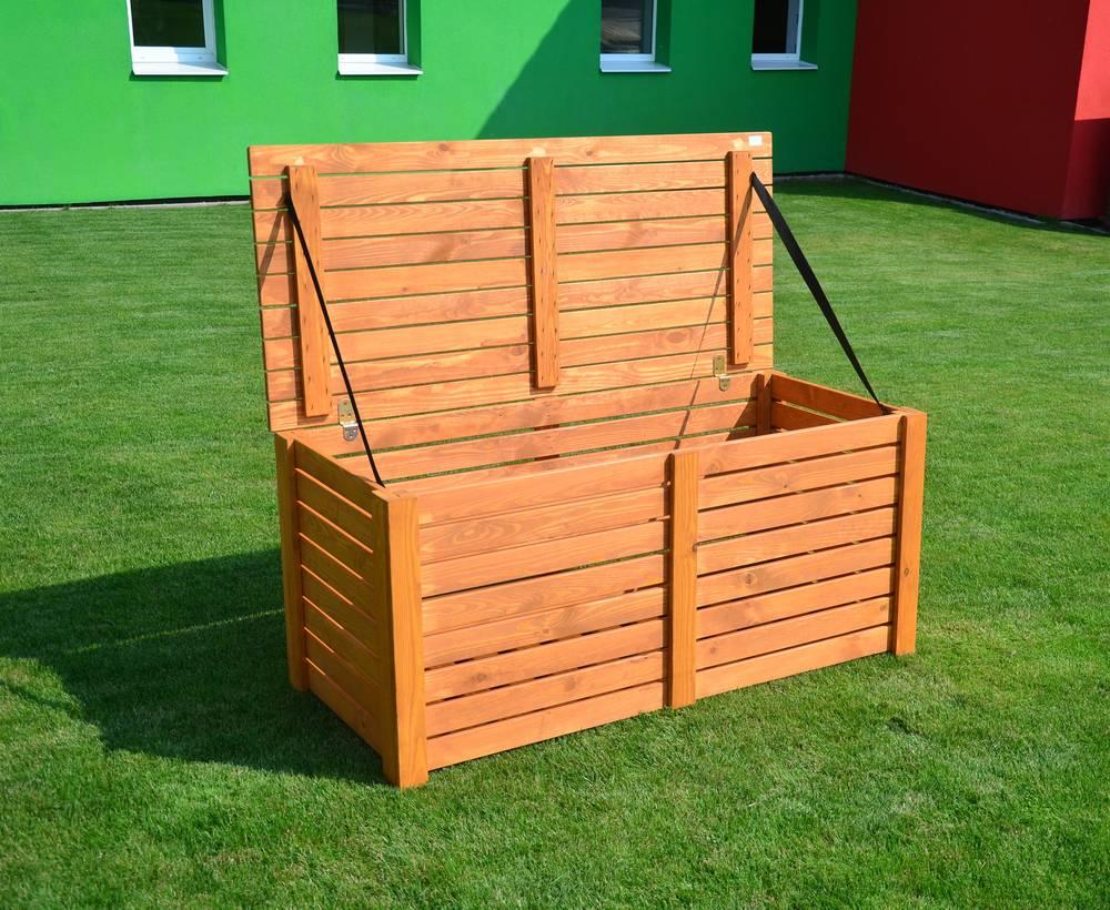 BOX na podušky dřevěný 97/4 Rojaplast