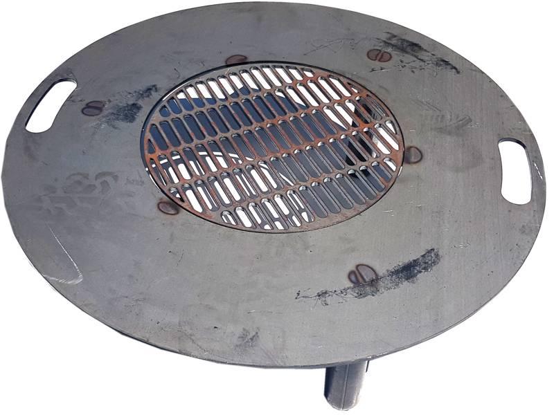 Grilovací plát na přenosné ohniště 60cm - ILA