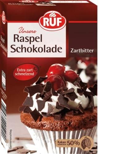 Čokoládové kousky 50% kakaa 100g - RUF