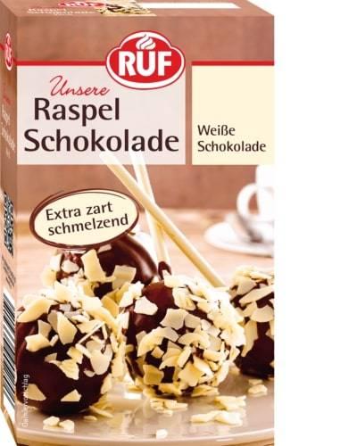 Čokoládové kousky bílá čokoláda 100g - RUF
