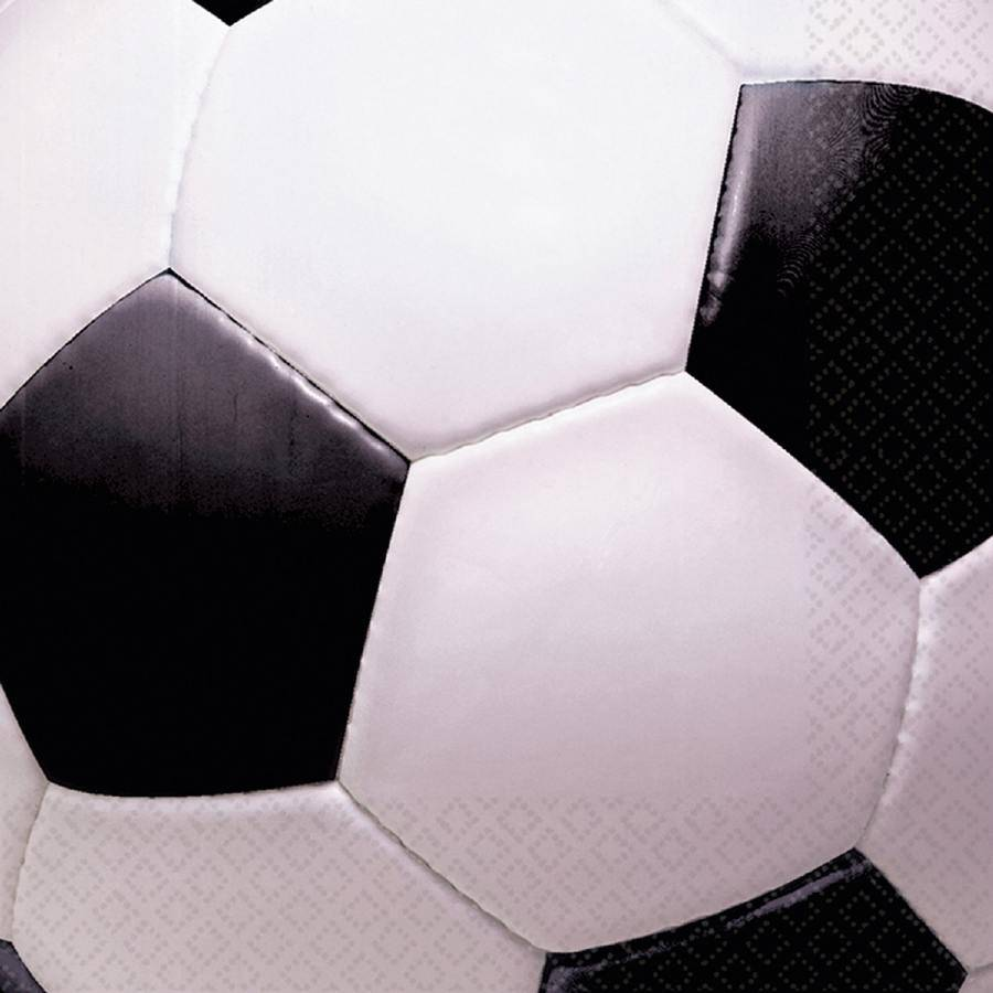 Ubrousky fotbalový míč 16ks 33x33cm - Amscan