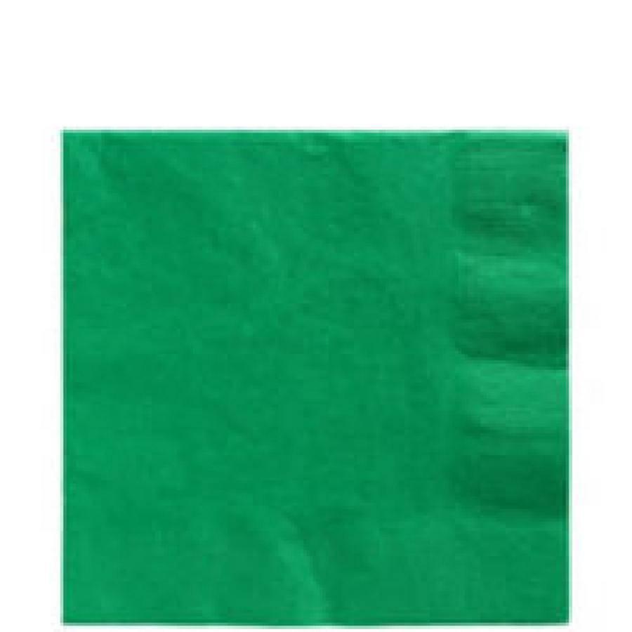 Ubrousky zelené 50ks 33x33cm - Amscan