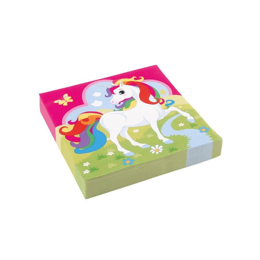 Ubrousky Unicorn 20ks 33x33cm - Amscan